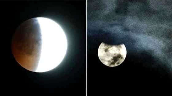 Penumbral Lunar Eclipse 5th and 6th june 2020