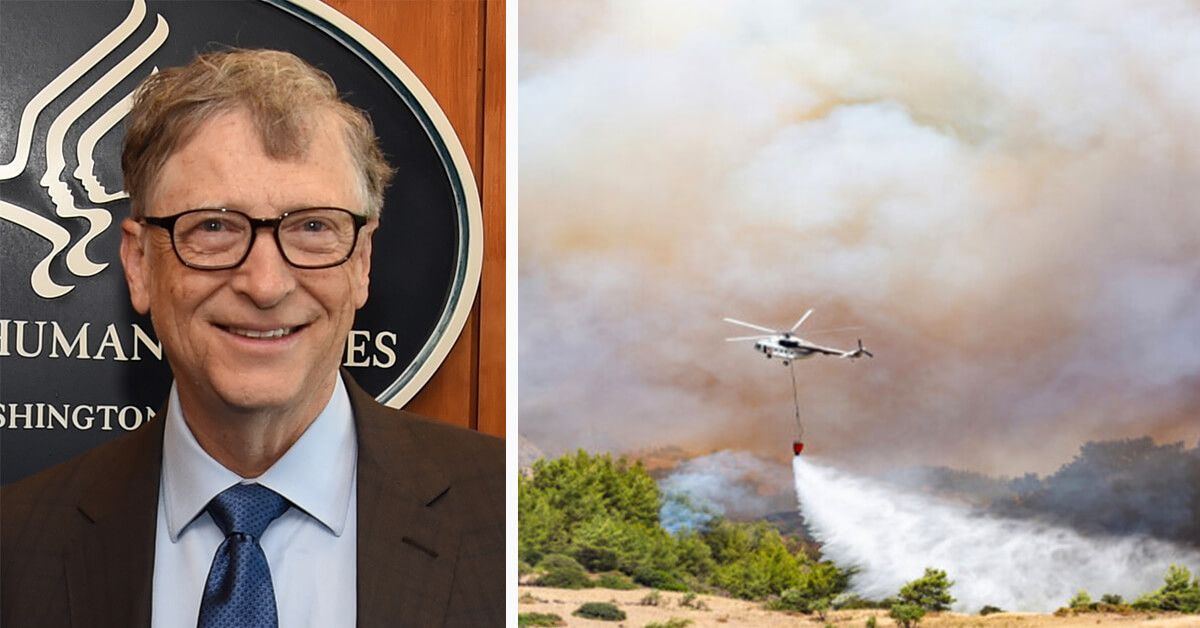 Bill Gates Is Funding A Chemical Cloud That Could Put An End To Global Warming